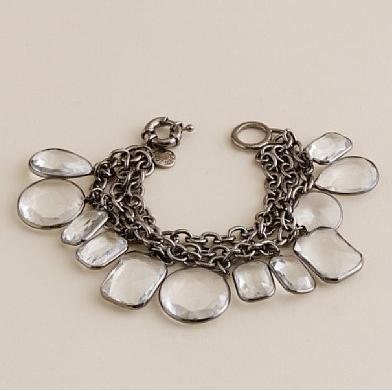 crystal corona bracelet